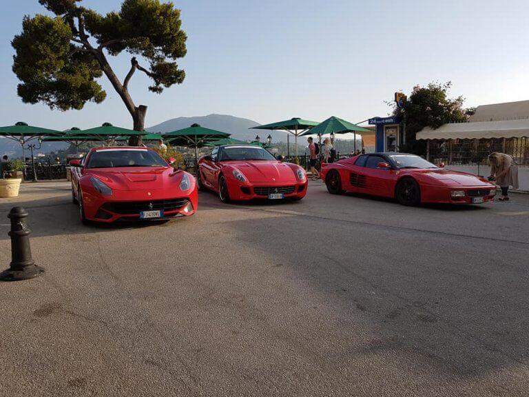 «Παρέλαση» Ferrari στην Κέρκυρα [pics]