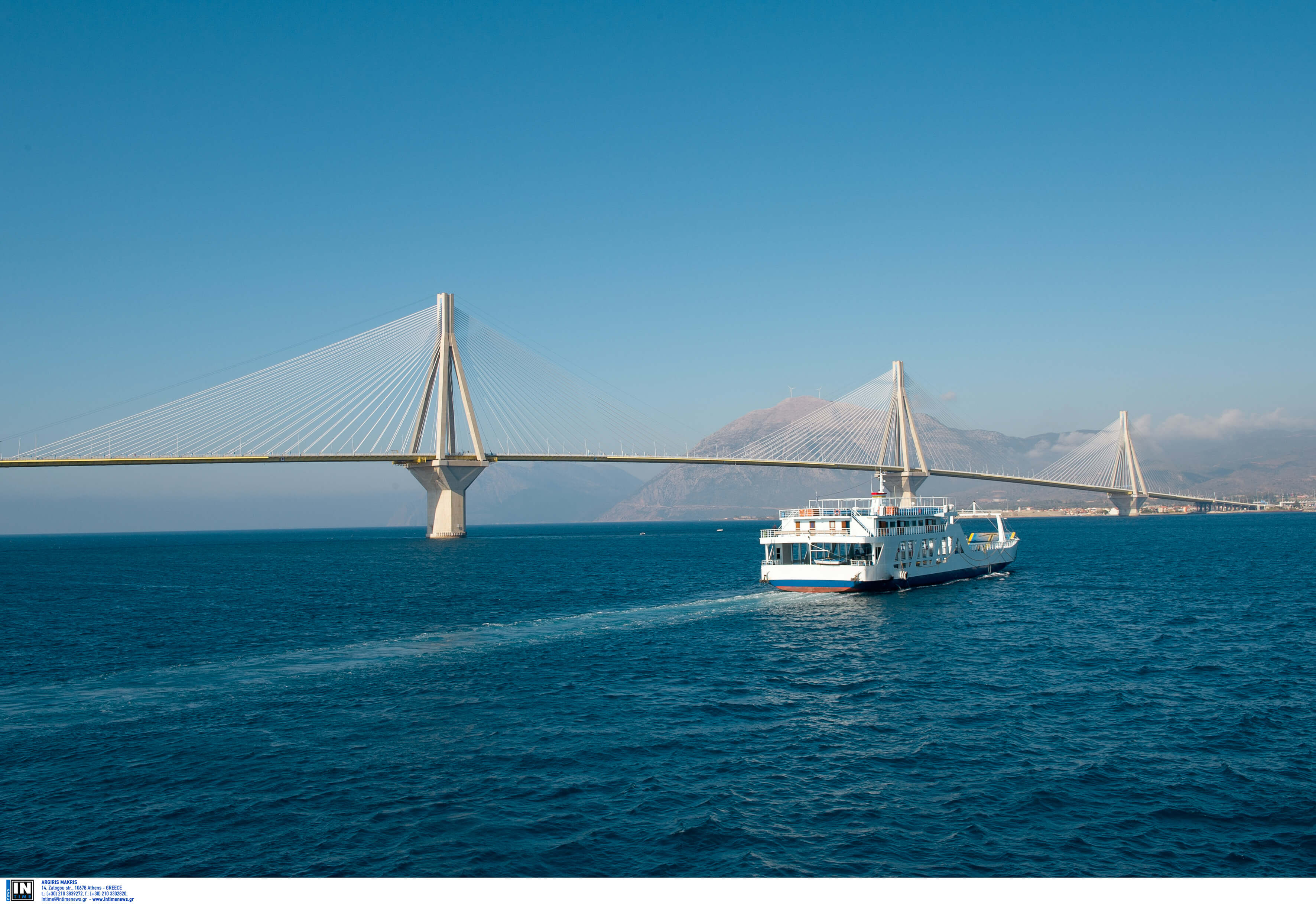 Ποδηλάτης έπεσε από τη γέφυρα Ρίου – Αντιρρίου!