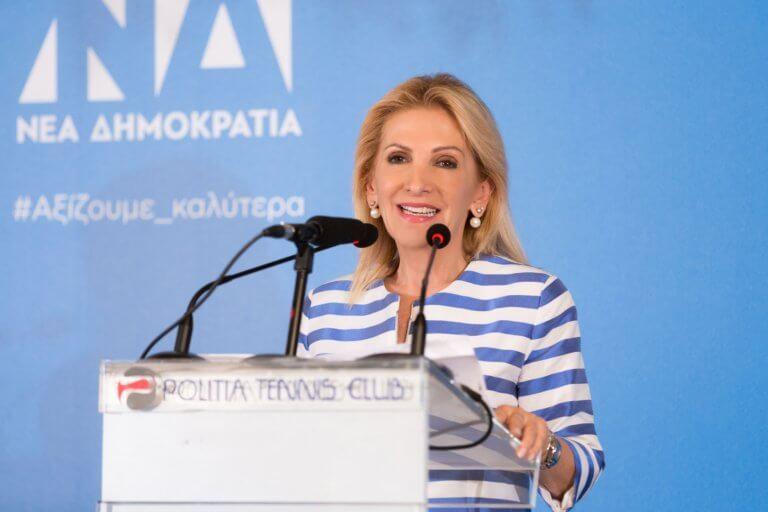 Εκλογές 2019 – Ιωάννα Καλαντζάκου: Μήνυμα ελπίδας και αισιοδοξίας στην κεντρική συγκέντρωση, παρουσία Σαμαρά!