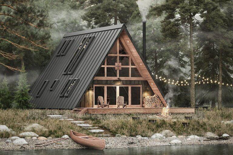 Η ξύλινη εξοχική κατοικία που όλοι ονειρεύονται!