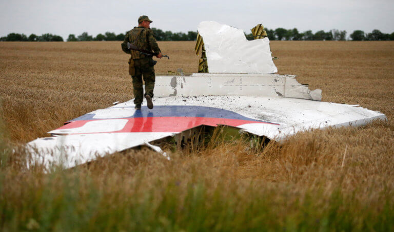 Ουκρανία: Ελεύθερος ύποπτος για την κατάρριψη του αεροσκάφους της Malaysia Airlines