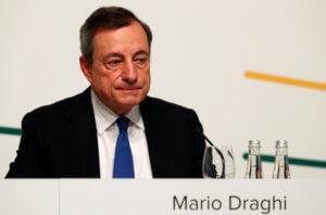 Παγώνει τα επιτόκια ως το Ιούνιο του 2020 η Ευρωπαϊκή Κεντρική Τράπεζα