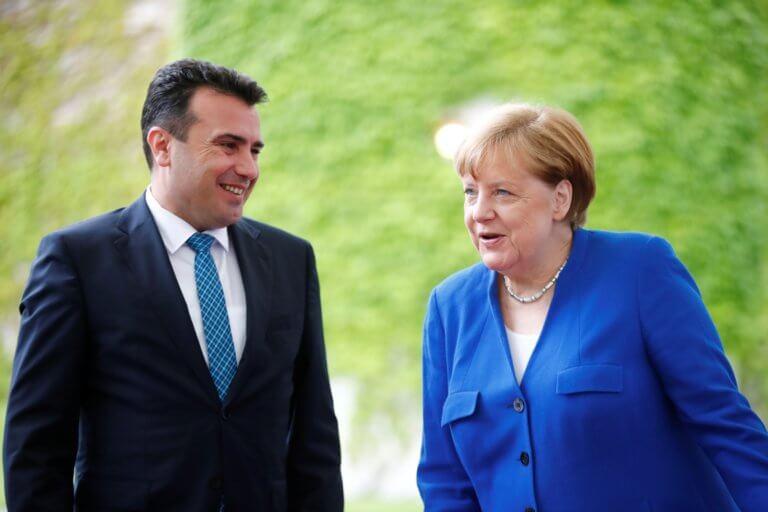 Μέρκελ: «Κόκκινο» στον Ζάεφ για ένταξη στην ΕΕ – «Πράσινο» για είσοδο στο ΝΑΤΟ!