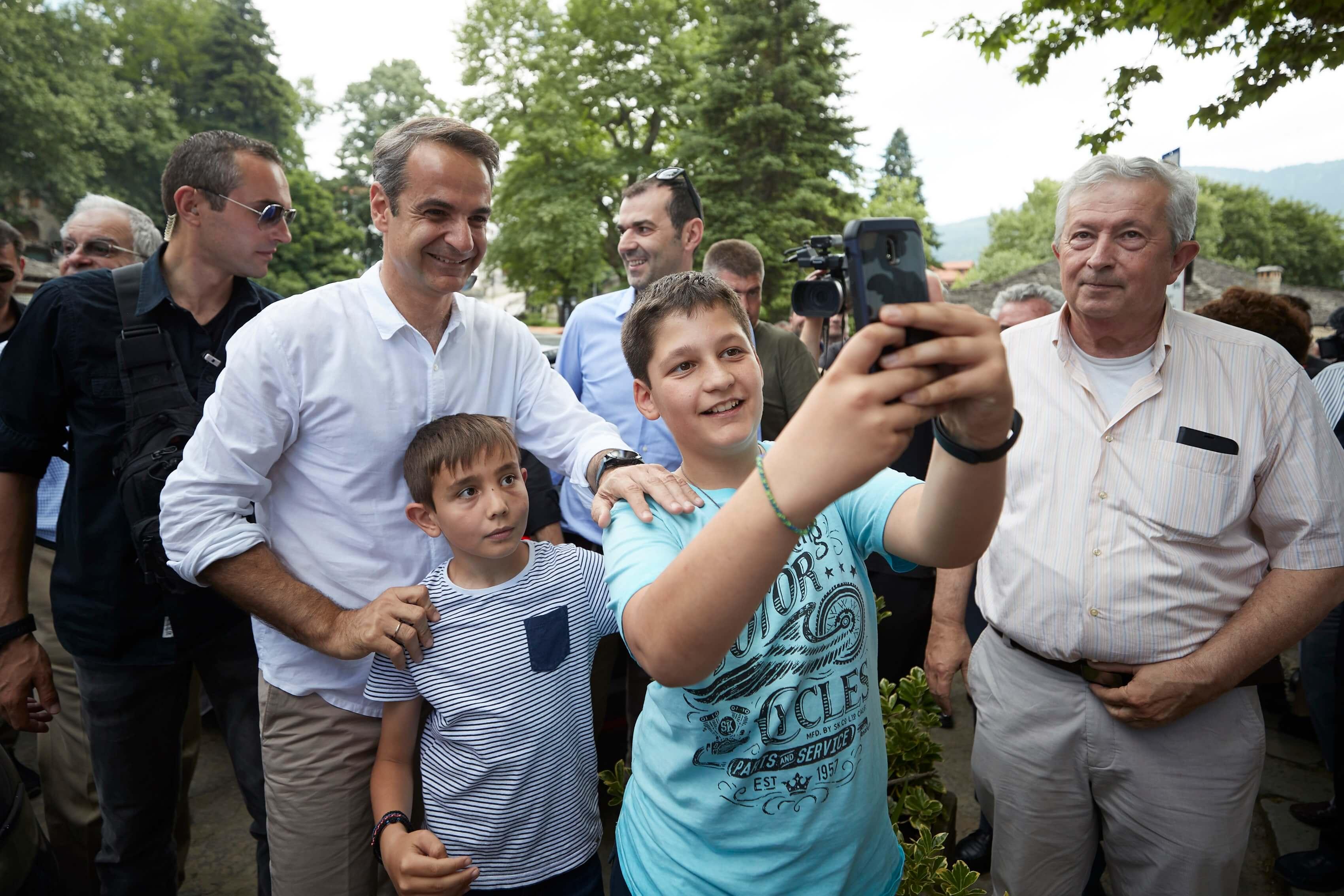 Εκλογές 2019 – Μητσοτάκης από Μέτσοβο: Αυτό είναι το δίλημμα της 7ης Ιουλίου!