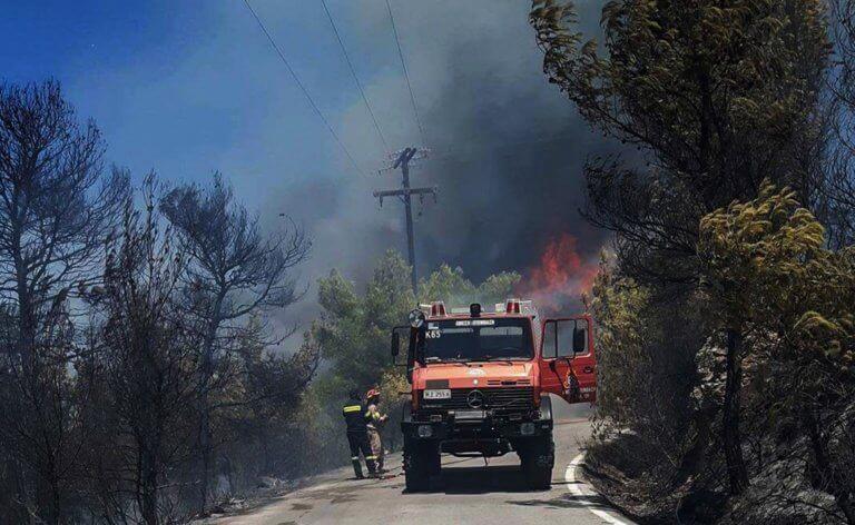 Συναγερμός στην Αττική! Υψηλός ο κίνδυνος πυρκαγιάς το Σάββατο