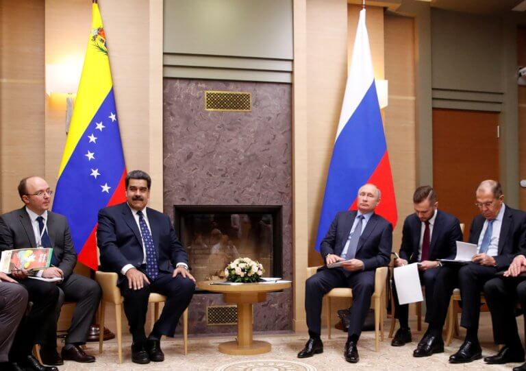 Μόσχα: Ο Πούτιν καλωσορίζει τον Μαδούρο – Θα υπογράψουν συμφωνίες!