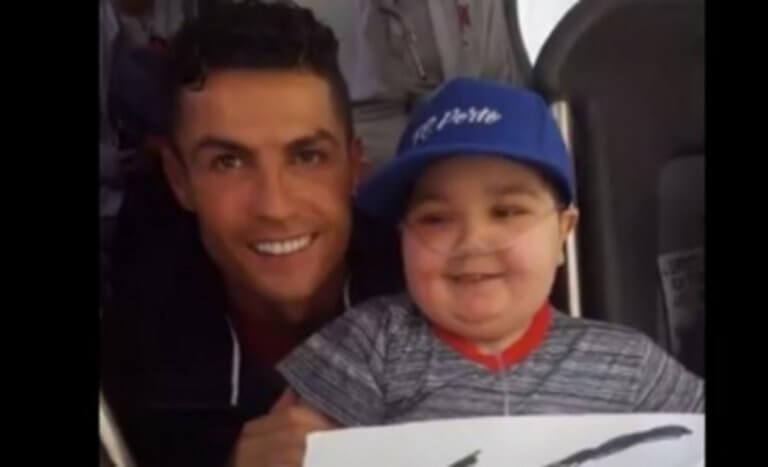 Respect σε Κριστιάνο Ρονάλντο! Σταμάτησε το πούλμαν της Πορτογαλίας για έναν 11χρονο