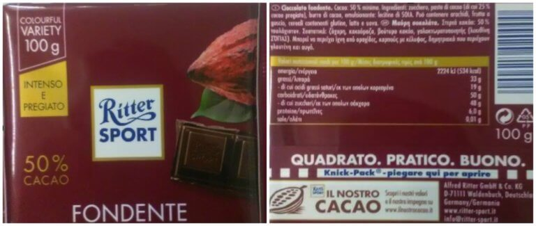 Προσοχή! Ο ΕΦΕΤ ανακαλεί μαύρη σοκολάτα [pic]