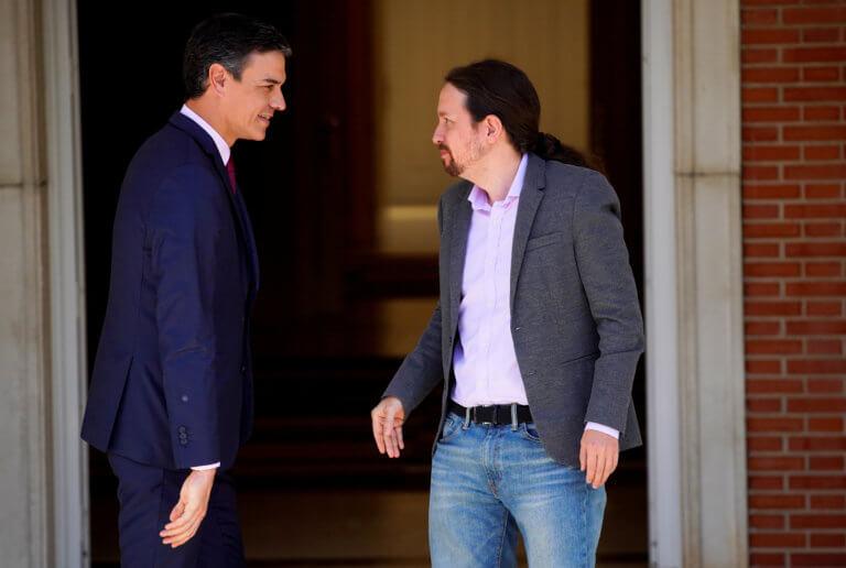 Podemos: Ανοιχτό το ενδεχόμενο να μην στηρίξουν τον Σάντσεθ