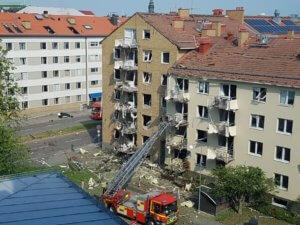 Σουηδία: Εικόνες καταστροφής από την έκρηξη – Τουλάχιστον 25 τραυματίες!