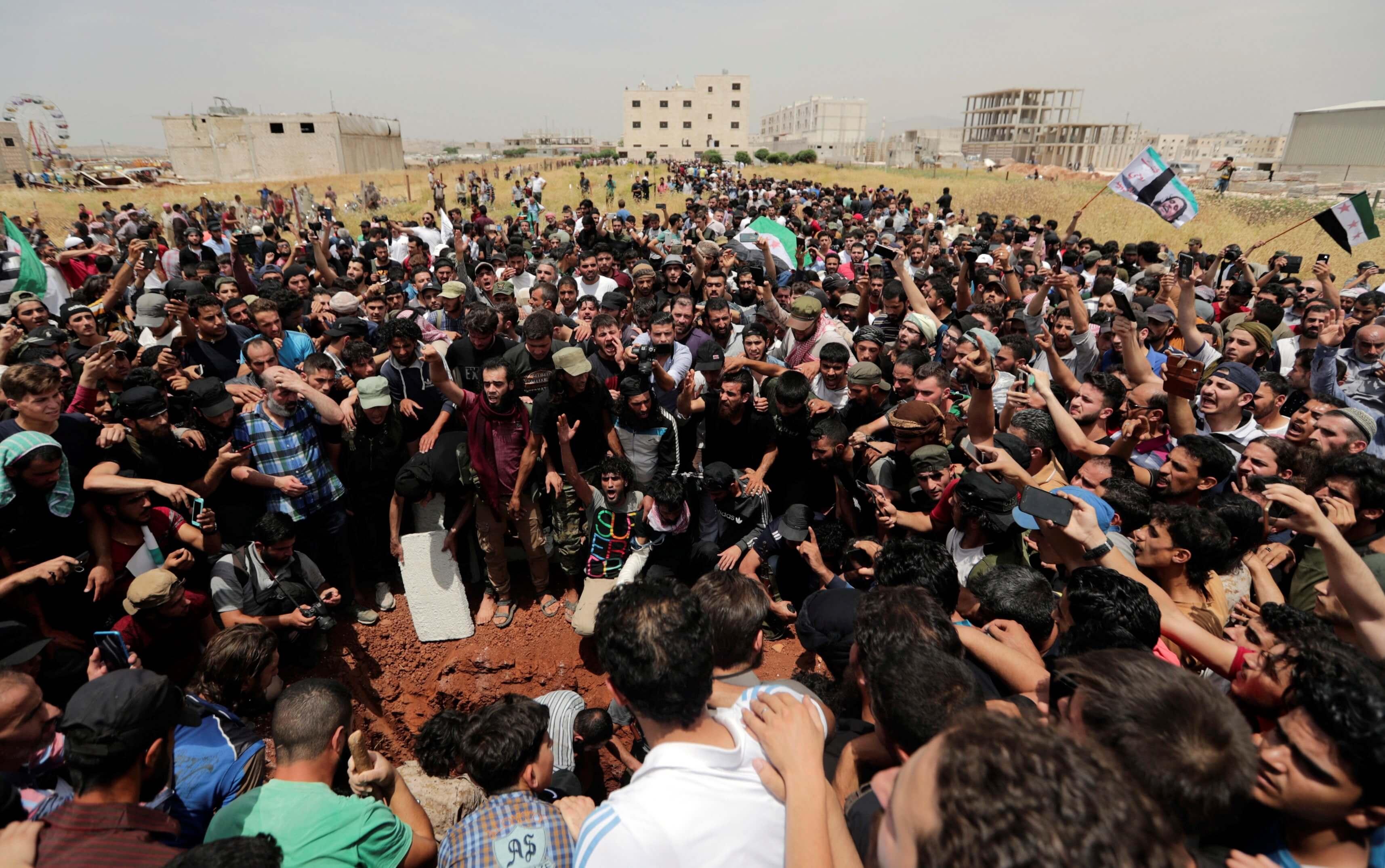 Συρία: Εκατόμβη νεκρών στο Ιντλίμπ σε μία και μόνο μέρα!