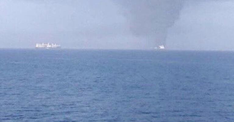 Παγκόσμιος συναγερμός! Επίθεση σε δυο τάνκερ στον Κόλπο του Ομάν!