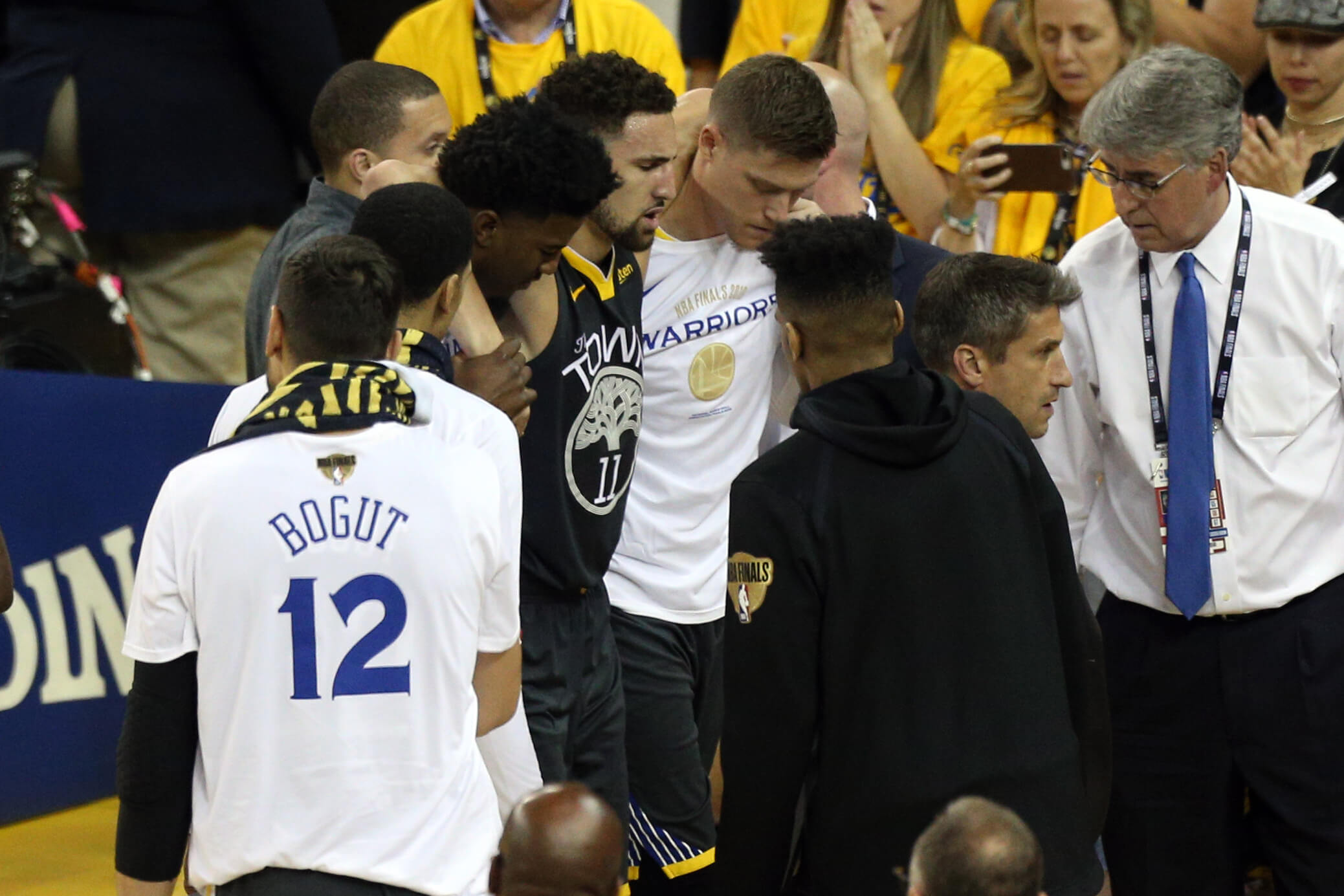 NBA: Οι Γουόριορς εξασφάλισαν 9,3 εκατομμύρια δολάρια για Τόμπσον