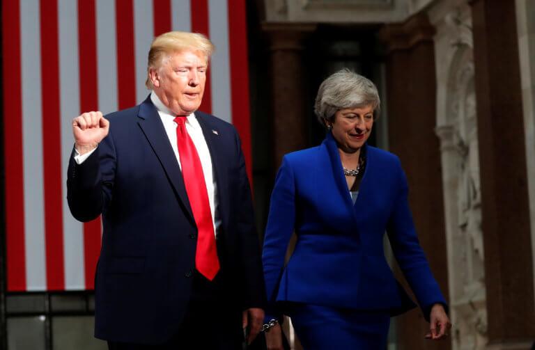 «Σφήνα» Τραμπ στους διαδόχους της Μέι – Πλασιέ ακροδεξιών τον χαρακτηρίζει ο Δήμαρχος Λονδίνου