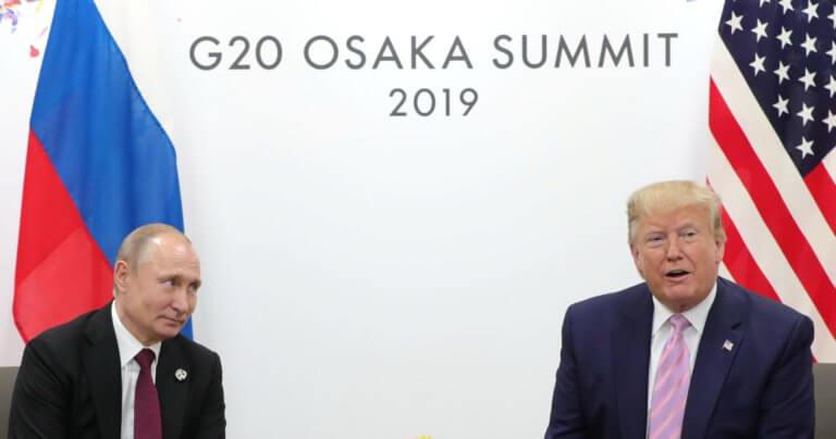 Κρεμλίνο: Ο Τραμπ θέλει επιτάχυνση του διαλόγου με τον Πούτιν