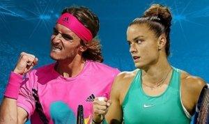 US Open: Πρόστιμα σε Τσιτσιπά και Σάκκαρη!
