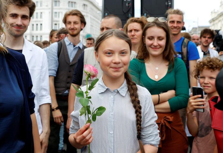 Διεθνής Αμνηστία: Βραβείο στη 16χρονη ακτιβίστρια Γκρέτα Τούνμπεργκ