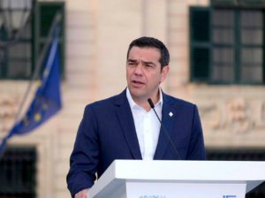 """Τσίπρας για Χριστόφια: """"Αποτίω φόρο τιμής σε ένα σπουδαίο τέκνο της Κύπρου""""!"""