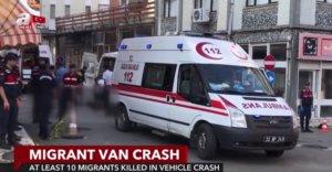 Τουρκία: Τρομερό τροχαίο δυστύχημα με μετανάστες στα σύνορα με την Ελλάδα! video