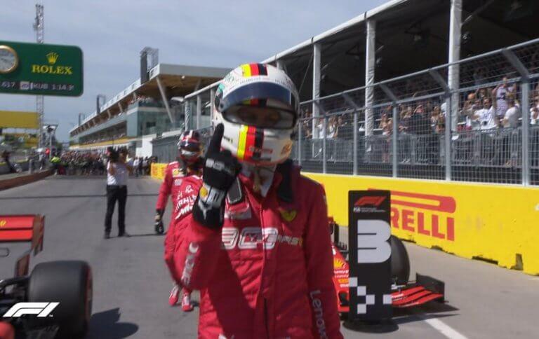 F1: Πρώτη pole position για τον Φέτελ στη σεζόν