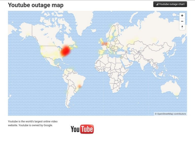 Google: Παραδέχεται το μπλακ άουτ στο YouTube και εξηγεί την αιτία!
