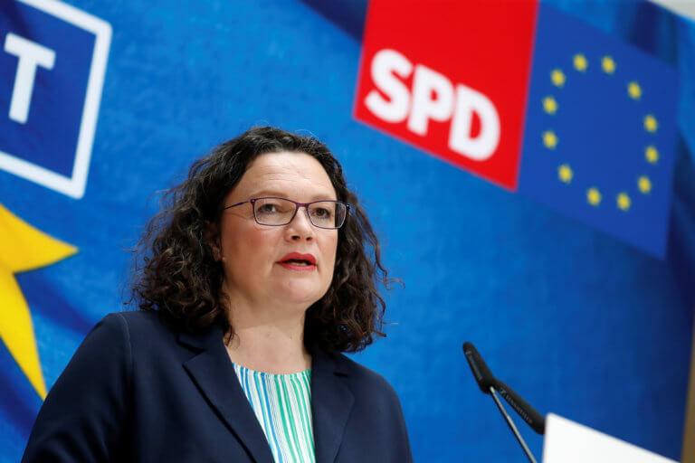 Γερμανία: Φόβοι για ενδεχόμενο κατάρρευσης του κυβερνητικού συνασπισμού από την παραίτηση Νάλες