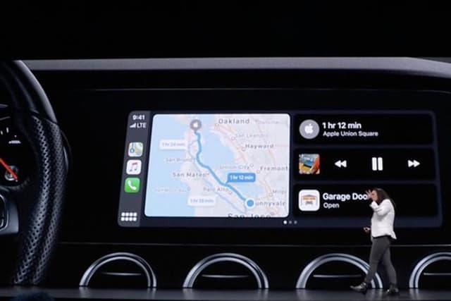 H Apple αναβαθμίζει το CarPlay