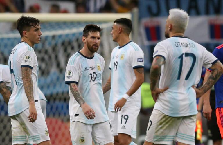 """Copa America: """"Στραπάτσο"""" για την Αργεντινή του Μέσι! – video"""