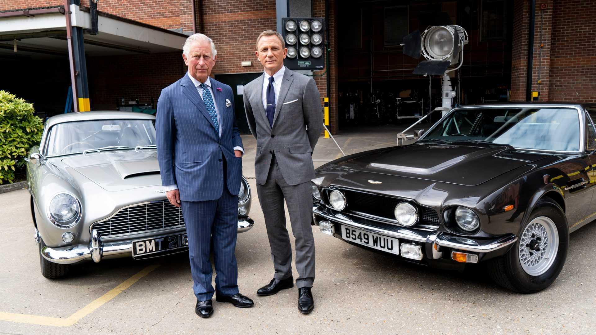 Αυτές τις Aston Martin θα οδηγεί ο James Bond στη νέα του ταινία