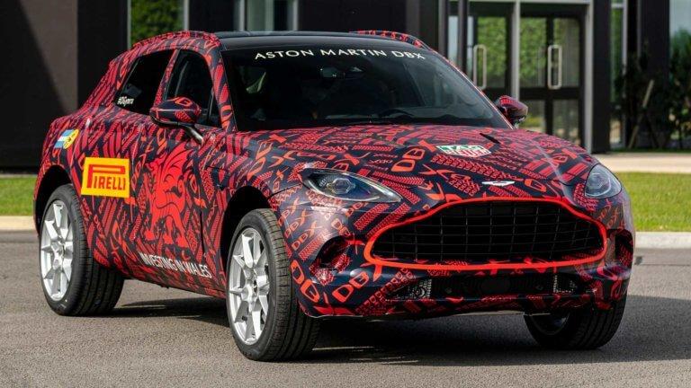 Οι πρώτες Aston Martin DBX βγήκαν από το νέο εργοστάσιο