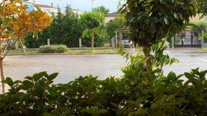 Καταιγίδα με ήλιο στα Τρίκαλα! video