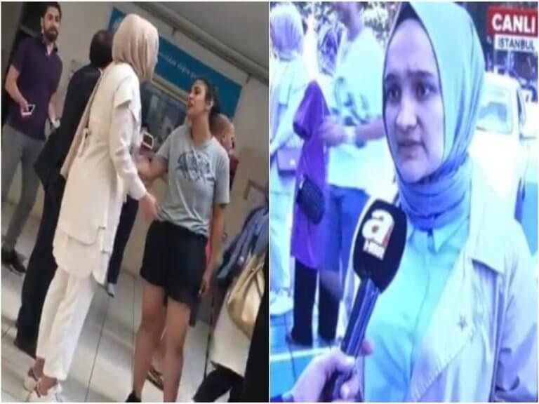 Κωνσταντινούπολη: «Βγάλε τη μαντίλα!» – Χαμός σε εκλογικό κέντρο – Video