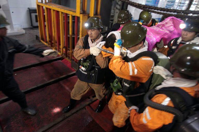 Νέα τραγωδία στην Κίνα – Κατέρρευσε στοά ανθρακωρυχείου