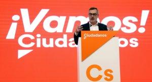 Ισπανία: Παραιτήθηκε από τους φιλελεύθερους Ciudadanos και τους κατηγορεί για επαφές με το ακροδεξιό Vox