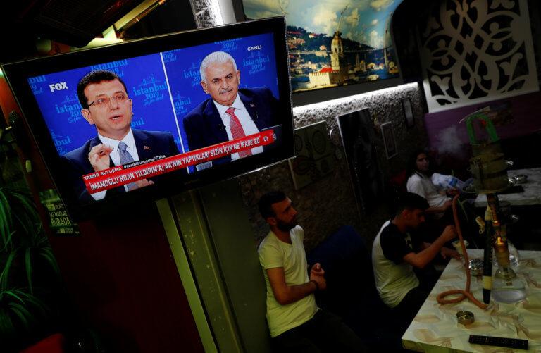 Εκλογές Κωνσταντινούπολη: Αντάλλαξαν πυρά στο debate Γιλντιρίμ και Ιμάμογλου