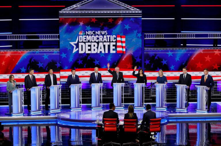 ΗΠΑ: Τηλεθέαση ρεκόρ για το debate των υποψηφίων των Δημοκρατικών