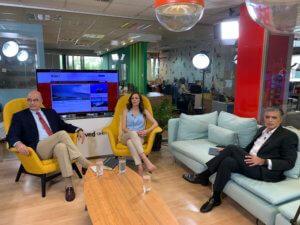 Ελληνοτουρκικά και οικονομία κυριάρχησαν στο debate Αχτσιόγλου – Δένδια στο newsit.gr