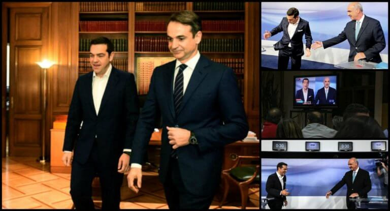 Debate ξανά 1.386 μέρες μετά την τελευταία «μάχη» Τσίπρα – Μεϊμαράκη!