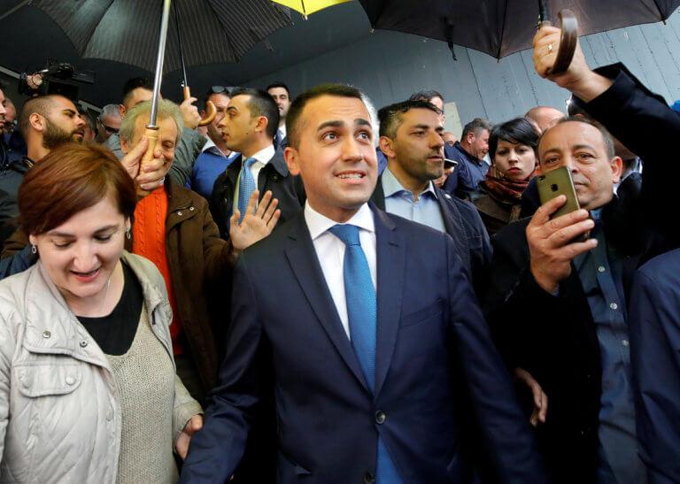Ιταλία: Ο Ντι Μάιο προτίθεται να στηρίξει τον κυβερνητικό συνασπισμό