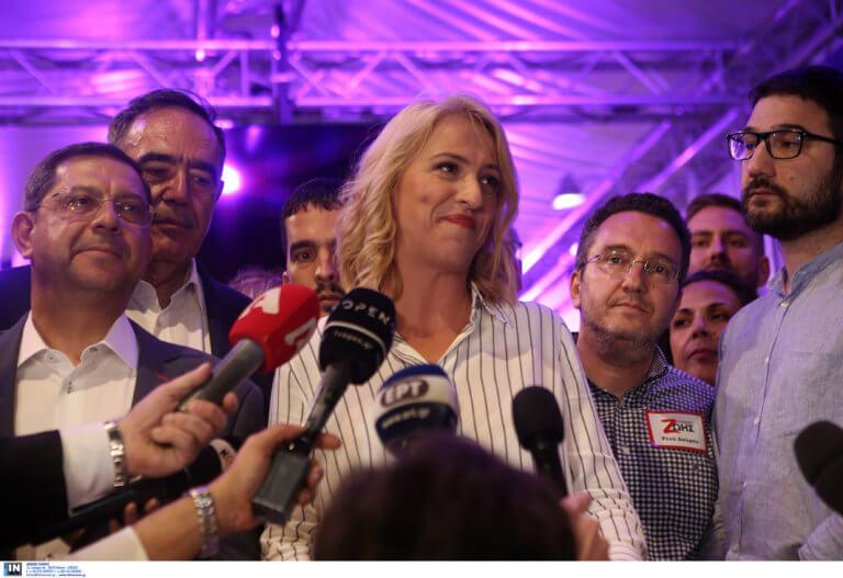 Εκλογές 2019 – Δούρου: Κάλεσα να συγχαρώ τον Πατούλη και δεν απάντησε – video