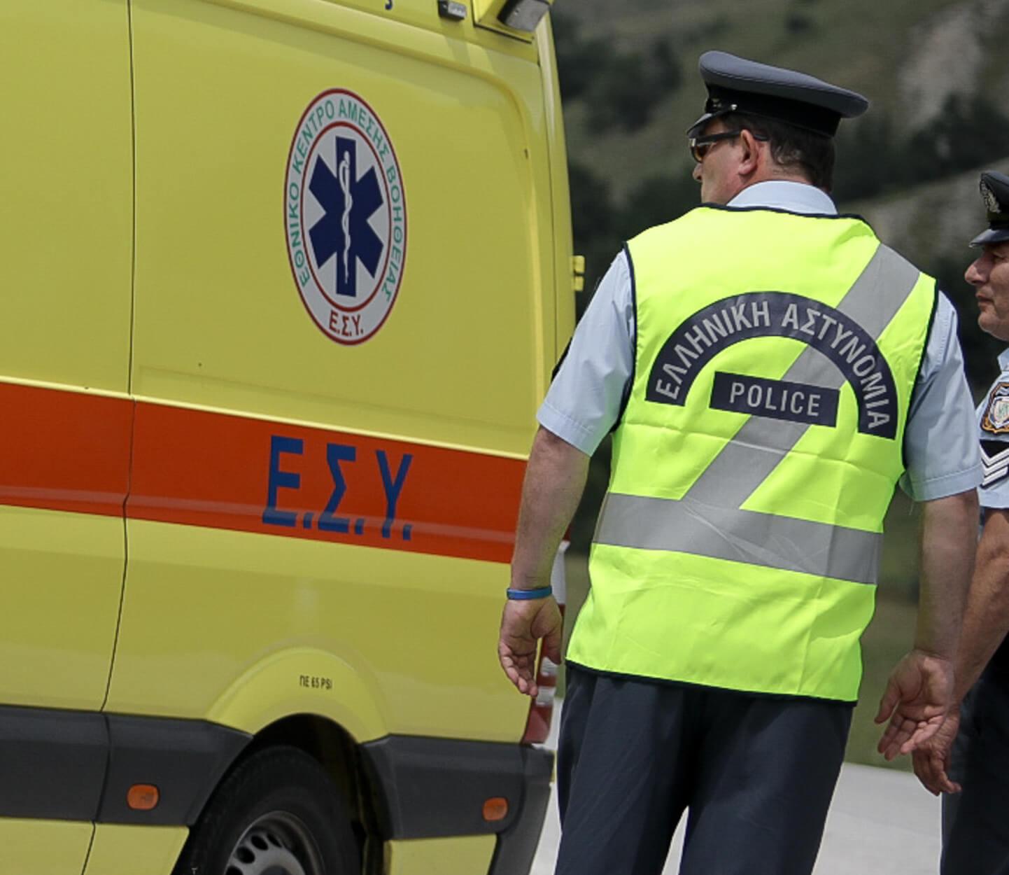 Σοβαρό τροχαίο στο Ρέθυμνο – Εγκλωβίστηκαν 4 άτομα