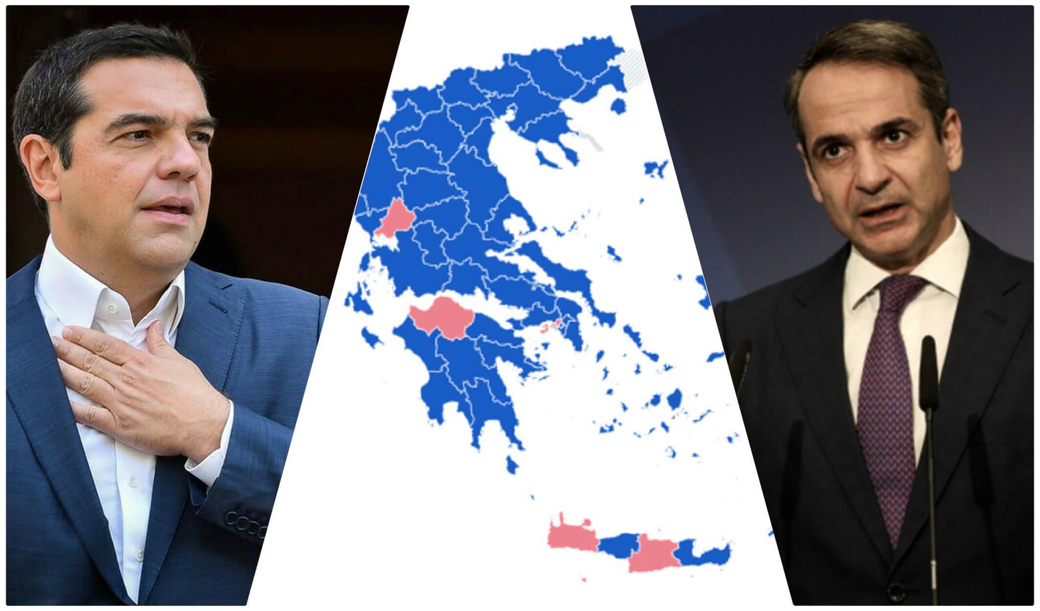 """Εκλογές 2019: Πως αλλάζει ο εκλογικός """"χάρτης"""" – Τα βαριά ονόματα που μένουν… στην απ'έξω"""