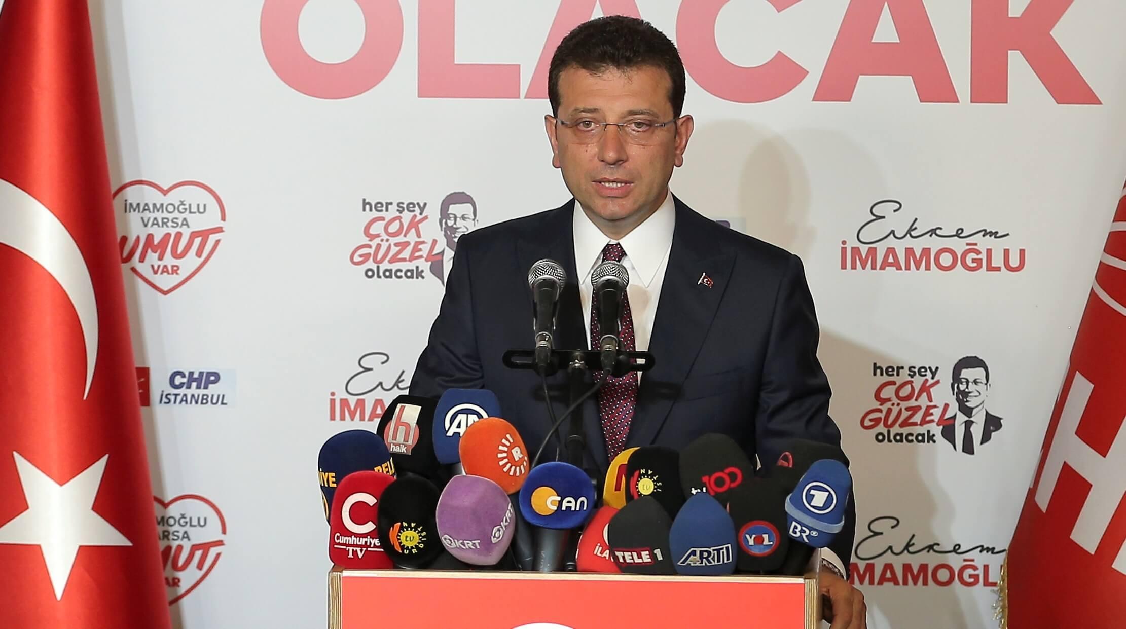 Και επίσημα δήμαρχος Κωνσταντινούπολης για… δεύτερη φορά ο Ιμάμογλου