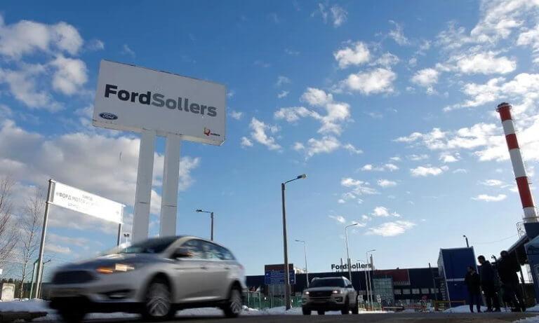 Η Ford πουλάει τα εργοστάσιά της στη Ρωσία