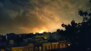 Φιλαδέλφεια: Φωτιά σε διυλιστήριο – Έγινε η νύχτα μέρα! Σοκαριστικές εικόνες – video