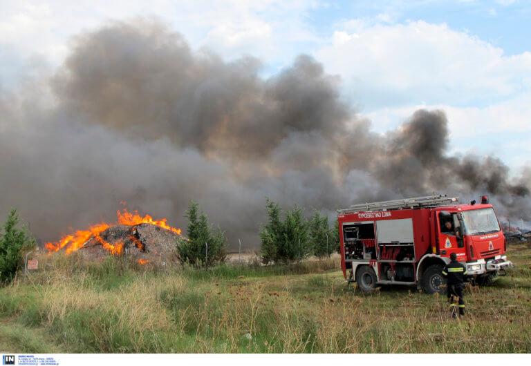 Φωτιά στο Νέο Βουτζά