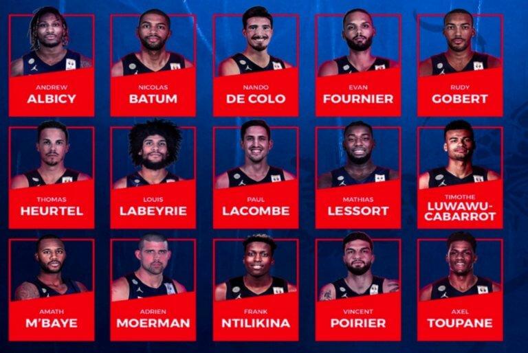 Μουντομπάσκετ: Με τρεις NBAers η προεπιλογή της Γαλλίας! [pic]
