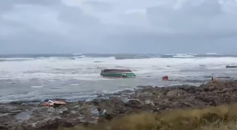 Τραγωδία στη Γαλλία! Νεκροί τρεις διασώστες λόγω της καταιγίδας Μιγκέλ
