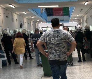 Συναγερμός στις φυλακές Κορυδαλλού! Ένταση και άγριες συμπλοκές