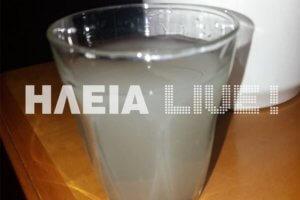 Ηλεία: Οι αποχρώσεις του νερού στη Γαστούνη – «Αγοράζουμε νερό ακόμα και για μπάνιο» [pics]